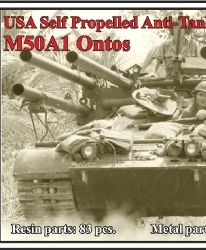 USA Self Propelled Anti-Tank Gun M50A1 Ontos