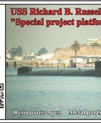 "USS Richard B. Russell SSN-687, ""Special project platform"""