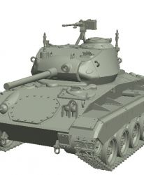 US Light Tank M24 Chaffee (Late Production), Pre-Order Phase I