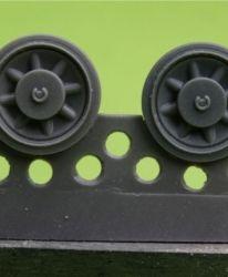 1/48 Wheels for Pz.IV, Ausf. A-D