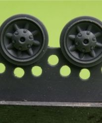 1/48 Wheels for Pz.IV, Ausf. E-J
