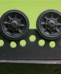 1/48 Wheels for Pz.IV, Ausf. J