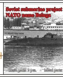 1/700 Soviet submarine project 1710 Mackrel (NATO name Beluga)