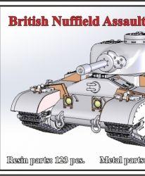 1/72 British Nuffield Assault Tank A.T.2