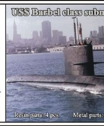 1/700 USS Barbel class submarine