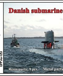 1/700 Danish submarine Kronborg
