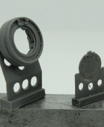 1/72 Wheels for Tiger (P), Ferdinand, Elefant