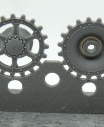 1/72 Sprockets for Pz.IV, Ausf. F-G