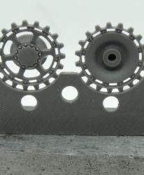 1/72 Sprockets for Pz.IV, 40 cm tracks