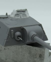 1/72 Turret for Pz.V Panther, Versuchs-Turm