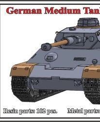 1/72 German Medium Tank Pz.IV Ausf.H, original 9./B.W. configuration