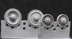 1/72 Wheels for IS-7
