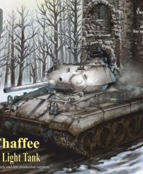 US Light Tank M24 Chaffee Economy pack