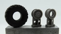 1/72 Wheels for LKW 10t, Michelin XL