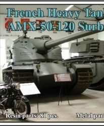 French Heavy Tank AMX-50-120 Surbaissé