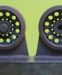 1/72 Wheels for T-54/55/62, cast (spider)