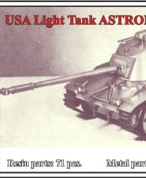 USA Light Tank ASTRON X-Weapon