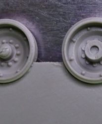 Wheels for M1 Abrams, late