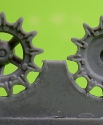 1/72 Sprockets for T-54, early