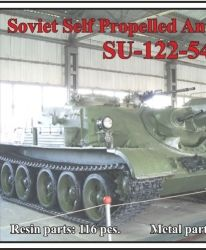 Soviet Self Propelled Anti-Tank Gun SU-122-54