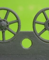 1/72 Idler wheel for Pz.IV, ausf F, F2 and G