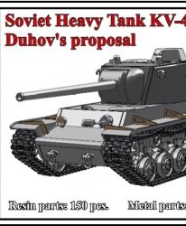 Soviet Heavy Tank KV-4, Duhov's proposal