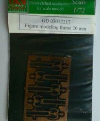 Figure modeling frame 20 mm