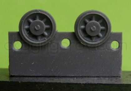 1/72 Wheels for Pz.IV, Ausf. A-D