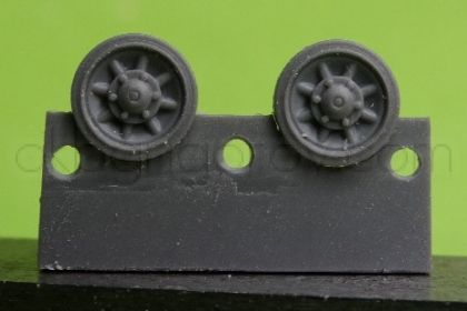 1/72 Wheels for Pz.IV, late Ausf. J