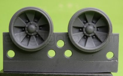 1/48 Wheels for T-90 late
