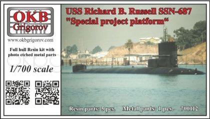 USS Richard B. Russell SSN-687,