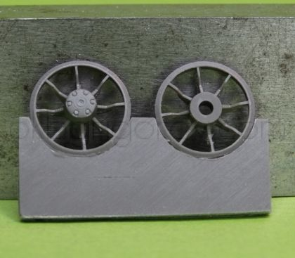 1/72 Idler wheel for Pz.III, late