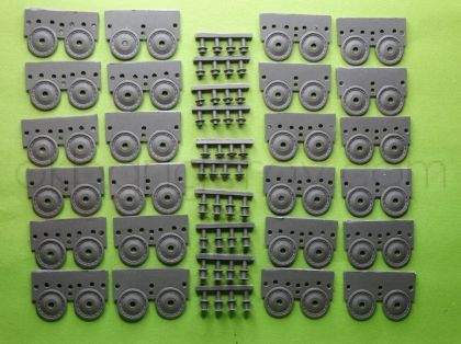 1/72 Wheels for Tiger I, early type 1