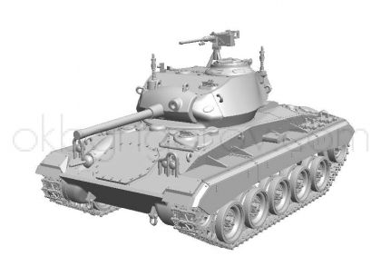 US Light Tank M24 Chaffee (Early Production), Pre-Order stage I