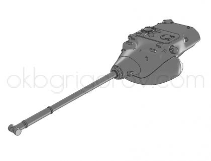 1/72 Turret for USA heavy tank T58