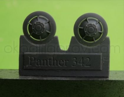1/72 Idler wheel for Pz.V Panther, early