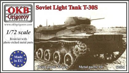 Soviet Light Tank T-30S