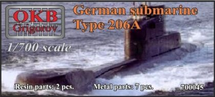 German submarine Type 206A