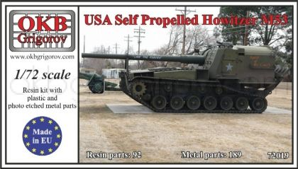 USA Self Propelled Howitzer M53