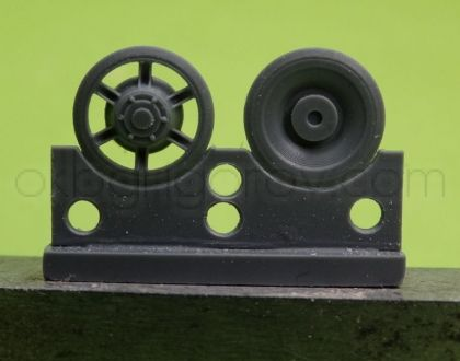 1/72 Idler wheel for Pz.V Panther, late