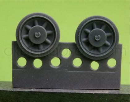 1/48 Wheels for Pz.IV, Ausf. A-D