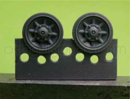 1/48 Wheels for Pz.IV, Ausf. J