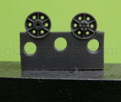 1/72 Return rollers for Stug, type 2