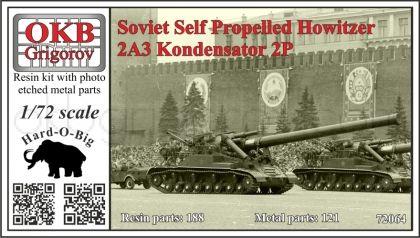 1/72 Soviet Self Propelled Howitzer 2A3 Kondensator 2P