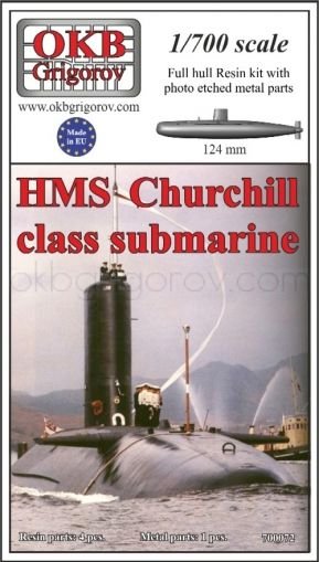 HMS Churchill class submarine