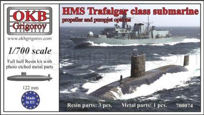 1/700 HMS Trafalgar class submarine