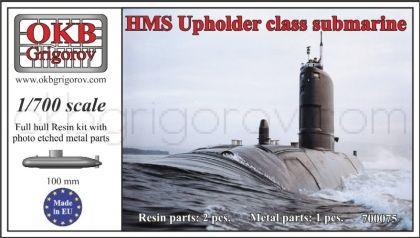 HMS Upholder class submarine
