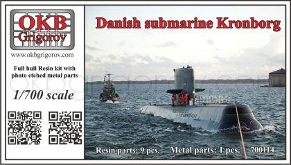 1/700 Danish submarine Kronborg