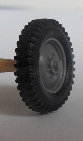 1/72 Wheels for Mercedes G4, Continental GELANDE, early rim