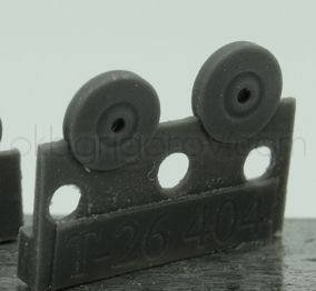 1/72 Wheels for T-26, early